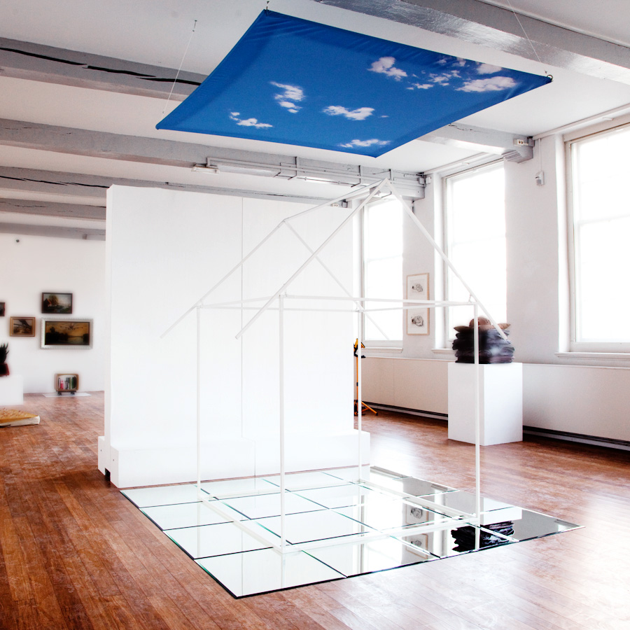 The Sky is the Limit, installation, 2015